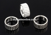 Spacer decor argint 925, 8mm - x1