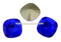 Swarovski, fancy square, majestic blue, 12mm - x1
