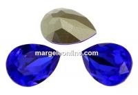 Swarovski, fancy picatura, majestic blue, 10x7mm - x1