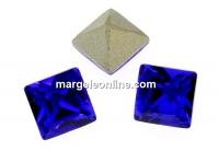 Swarovski, fancy chaton Square, majestic blue, 2mm - x20
