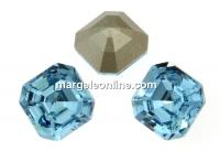 Swarovski, chaton imperial square, aquamarine, 10mm - x1