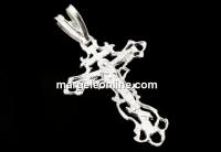 Pandantiv cruce argint 925, 31mm  - x1