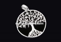 Pandantiv copacul vietii, argint 925, 40x31mm  - x1