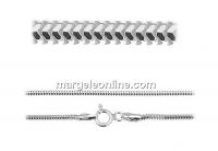 Lant circular, argint 925, 40cm - x1