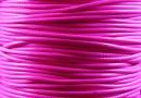 Snur bumbac cerat, roz, 1.7mm - 5m