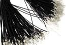 Snur pret-a-porter piele naturala, negru, 2.5mm - x3