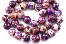 Sediment jasper, vintage purple, round, 10.5mm