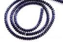 Sarma french wire decor, albastru hematit, 4gr