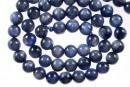 Blue kyanite, round, 7.5mm