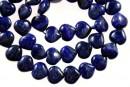 Natural lapis lazuli, heart, A grade, 10.5mm