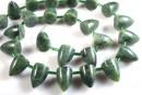 Canadian jade, bullet, 14x10mm