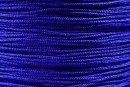 Snur matase pentru bratari, albastru cobalt, 0.8mm - x5m