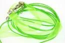 Snur pret-a-porter verde neon - x3