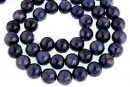 Sapphire, natural stone, blue, round, 7.5mm