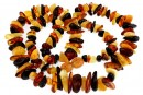 Baltic amber, necklace chips, 7.5-16mm