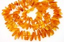 Baltic amber, necklace free form, 13-20mm