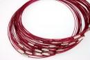 Baza colier, rubin metalizat - x3