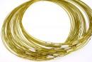 Baza colier, oliv auriu  - x3