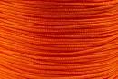 Snur matase portocaliu intens pentru bratari, 1mm - x30m