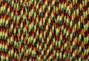Snur shamballa, multicolor, 1mm - 5m