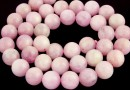 Pink kunzite, A+ grade, natural, round, 8.5mm