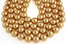 Perle Swarovski, bright gold pearl, 10mm - x20