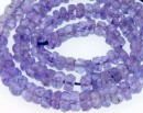 Tanzanite, natural stone, faceted rondelle , 3.5-4mm