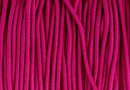 Snur elastic circular, fucsia 1mm - x 24m