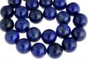 Natural lapis lazuli, round, 16mm