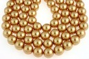 Perle Swarovski, bright gold, 3mm - x100