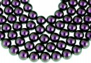 Perle Swarovski, iridescent purple, 10mm - x20
