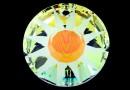 Swarovski, pandantiv Sun frosted, aurore boreale, 33mm - x1