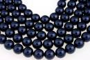 Perle Swarovski, night blue, 14mm - x2