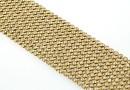 Swarovski Crystal mesh, golden shadow, 20x3.2cm - x1