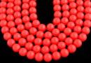 Perle Swarovski, neon red, 5mm - x100