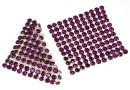 Swarovski Crystal mesh, amethyst, 3.2x3.2cm - x1