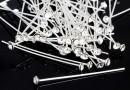 Ace cu cu cap cristal Swarovski, crystal, argint 925, 40mm - x1
