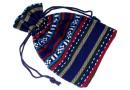 Saculet textil, 14x9cm - x5