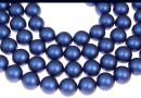 Perle Swarovski, iridescent dark blue, 6mm - x100