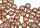 Perle Swarovski cu un orificiu, powder almond, 4mm - x4