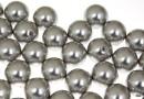 Perle Swarovski cu un orificiu, light grey, 6mm - x4