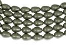Margele Swarovski perle picatura, powder green, 11x8mm - x2