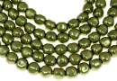 Margele Swarovski perle candy, light green, 6mm - x4
