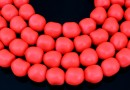 Margele Swarovski perle candy, neon red, 10mm - x2