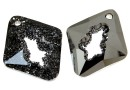 Swarovski, pand.growing rhombus, silver night, 36mm - x1