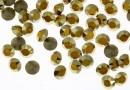 Swarovski, chaton pp14, metallic sunshine, 2mm - x20