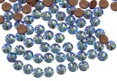 Swarovski, hotfix, ss10, light sapphire shimmer, 2.7mm - x20