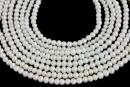 Micro perle de cultura - 4.5mm, alb