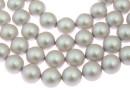 Perle Swarovski, iridescent dove grey, 12mm - x10