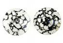 Swarovski, pandantiv rivoli, black patina, 6mm - x10
